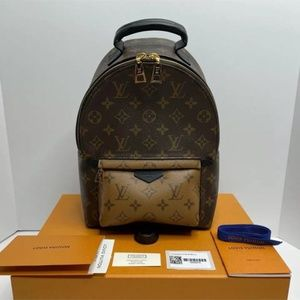 Authentic Louis Vuitton Palm Springs PM Backpack